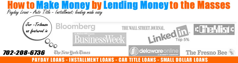 start payday loan business